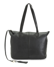 BORN Leather Raval Tote