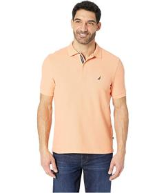 Nautica Short Sleeve Solid Performance Deck Polo