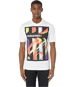 DSQUARED2 Abstract Stud Fit T-Shirt