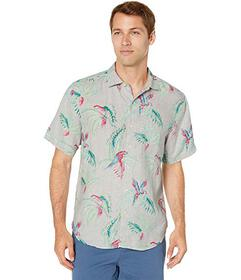 Tommy Bahama March of The Parrots Camp Shirt