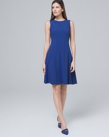 Body Perfecting Fit-and-Flare Dress