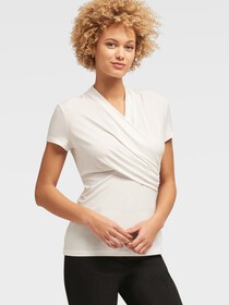 Donna Karan SIDE-RUCHED TOP