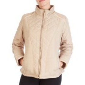 WEATHERPROOF Petite Stretch Panel Quilted Jacket