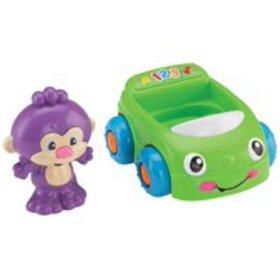 Fisher-Price Laugh & Learn Monkey's Learning Car,