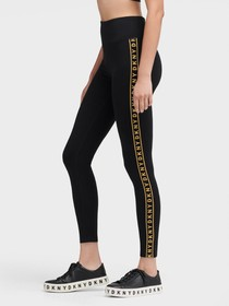 Donna Karan HIGH-WAISTED LEGGING WITH SIDE SEAM LO