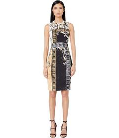 Versace Collection Printed Sheath Dress