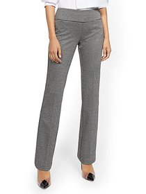 Whitney High-Waisted Pull-On Bootcut Pant - Ponte