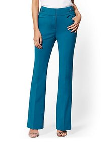 High-Waisted Bootcut Pant - All-Season Stretch - 7