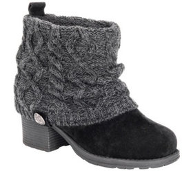MUK LUKS Women's Ankle Booties - Haley - A434922