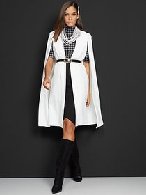 Belted Cape Jacket - New York & Company