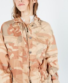 Free People Lead The Way Cotton Utility Jacket