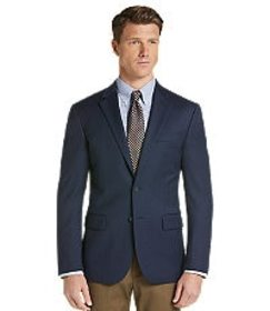Jos Bank Travel Tech Collection Slim Fit Check Spo