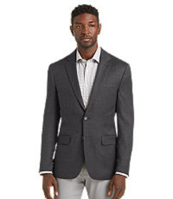Jos Bank Travel Tech Slim Fit Mini Check Sportcoat