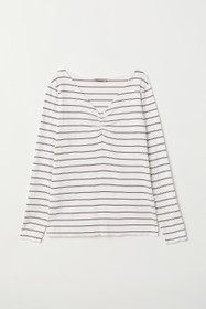 H&M+ V-neck Jersey Top