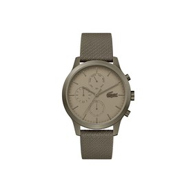 Lacoste Mens Lacoste.12.12 Watch with Khaki Leathe