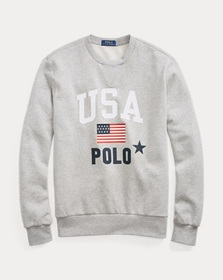 Ralph Lauren Fleece Graphic Sweatshirt