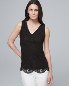 Lace-Front Shell