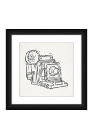 PTM Images Oldschool Camera Framed Giclee Picture