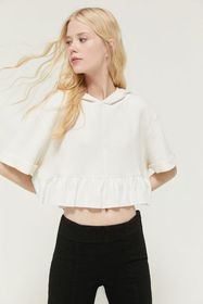 Out From Under Pep Rally Hooded Peplum Tee
