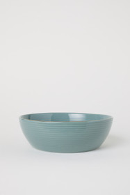 Textured Porcelain Bowl