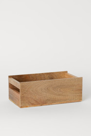 Large Wooden Spice Box
