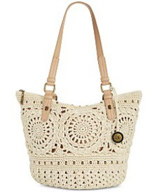 The Sak Silverwood Crochet Tote, Created for Macy'