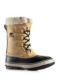 Sorel 1964 Pac Snow Faux Fur-Trimmed Winter Boots