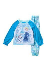 AME Disney(R) Frozen Elsa Pajama Set (Toddler Girl