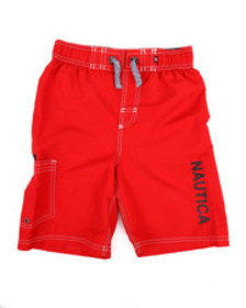 Nautica swim trunks w/ marled drawstrings (8-20)