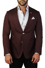 Maceoo Socrate Tonal Two Button Tailored Fit Suit