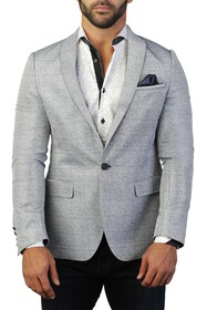 Maceoo Beethoven Dot Two Button Tailored Fit Suit