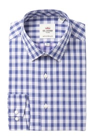 Ben Sherman Dot Dobby Check Tailored Slim Fit Dres