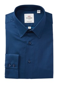 Ben Sherman Solid Dobby Tailored Slim Fit Dress Sh