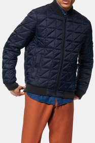 Andrew Marc Bugby Quilted Bomber Jacket