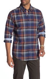 Ben Sherman Ombre Check Print Union Fit Shirt