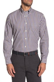 Brooks Brothers Trim Fit Small Check Sport Shirt