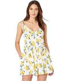 Kate Spade New York Lemon Beach Cover-Up Flare Rom