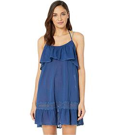 Kate Spade New York Grove Beach Ruffle Cover-Up Dr