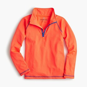 J. Crew Kids' tech half-zip pullover