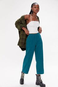 Urban Renewal Recycled Overdyed Corduroy Pull-On P