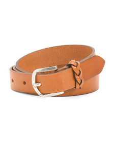 GAPO ITALY Made In Italy Leather Belt