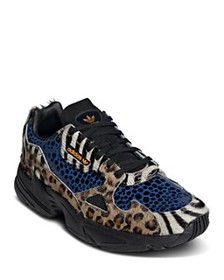 Adidas - Women's Falcon Mixed Media Lace-Up Sneake