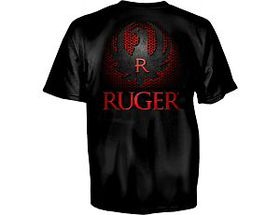 Ruger® Men's Grid Cut Out Short-Sleeve Tee Shirt