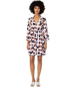 Kate Spade New York Geo Squares Mini Dress