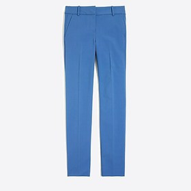 J. Crew Factory Slim cropped Ruby pant in stretch