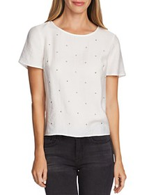 VINCE CAMUTO - Rumple Studded Top - 100% Exclusive