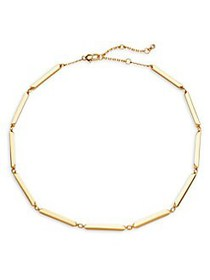 Kate Spade New York Goldtone Collar Necklace GOLD