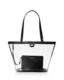 MICHAEL Michael Kors - Rita Medium Clear Bucket To