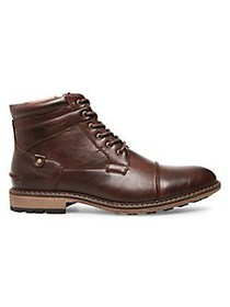 Madden Bontal Leather Lug Boots BROWN