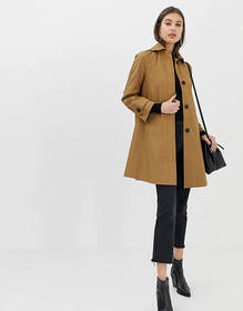 ASOS DESIGN boyfriend trench coat